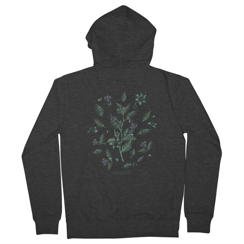 The Devil Is In The Details Men's French Terry Zip-Up Hoody by Wolf Bite Shop