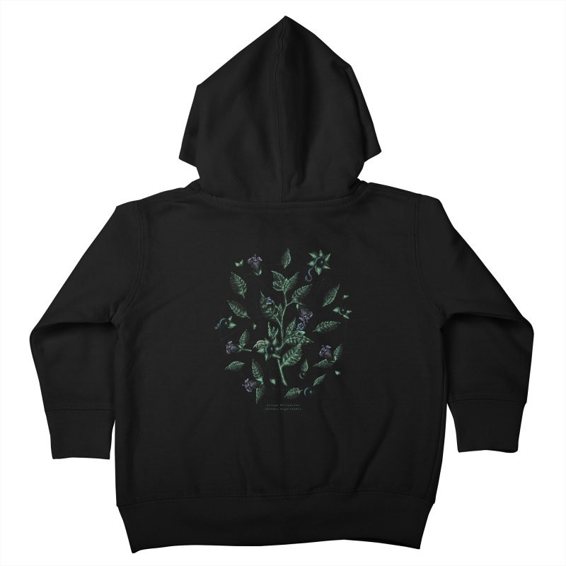 The Devil Is In The Details Kids Toddler Zip-Up Hoody by Wolf Bite Shop