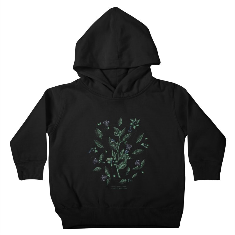 The Devil Is In The Details Kids Toddler Pullover Hoody by Wolf Bite Shop