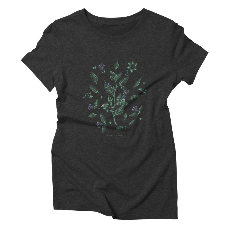 The Devil Is In The Details Women's Triblend T-Shirt by Wolf Bite Shop