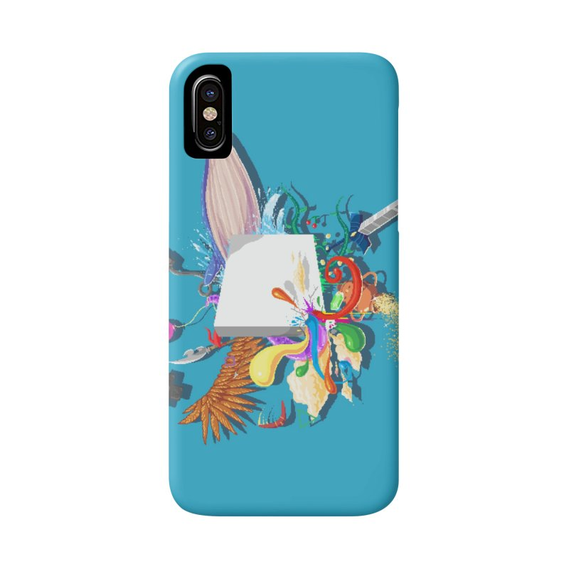Pixel Story Accessories Phone Case by Wolf Bite Shop