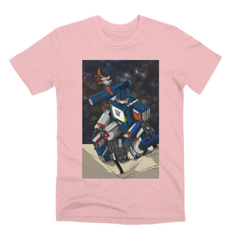 The Wave Men's Premium T-Shirt by wolly mcnair's Artist Shop