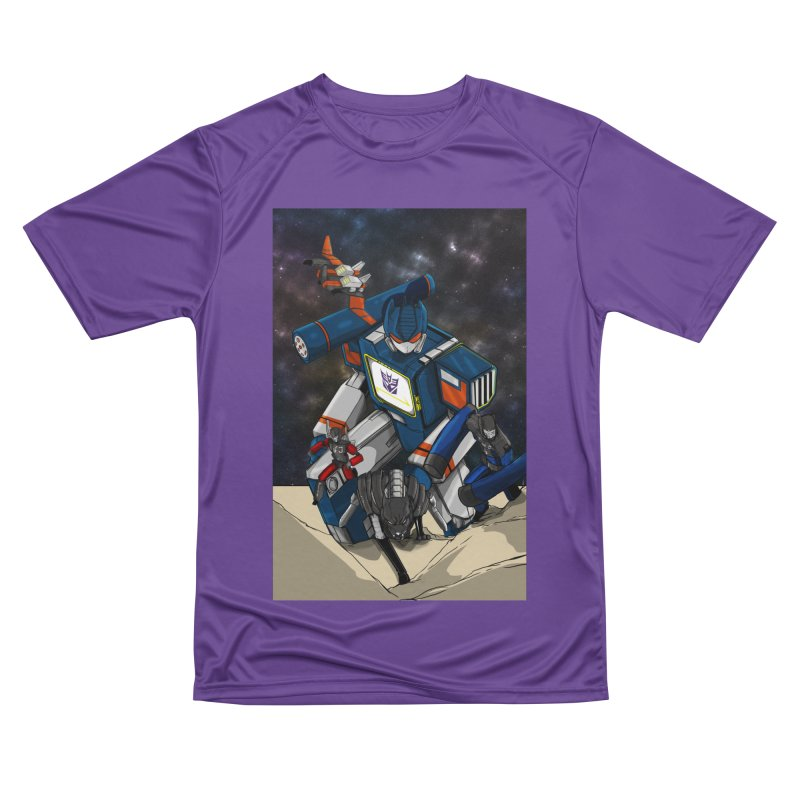 The Wave Women's Performance Unisex T-Shirt by wolly mcnair's Artist Shop