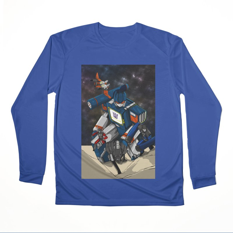 The Wave Women's Performance Unisex Longsleeve T-Shirt by wolly mcnair's Artist Shop