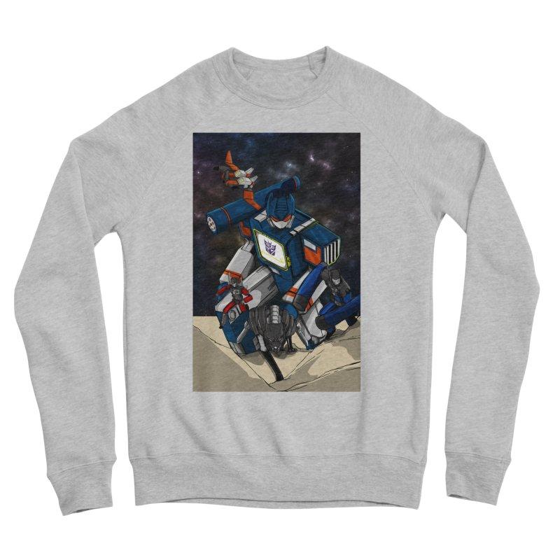 The Wave Women's Sponge Fleece Sweatshirt by wolly mcnair's Artist Shop