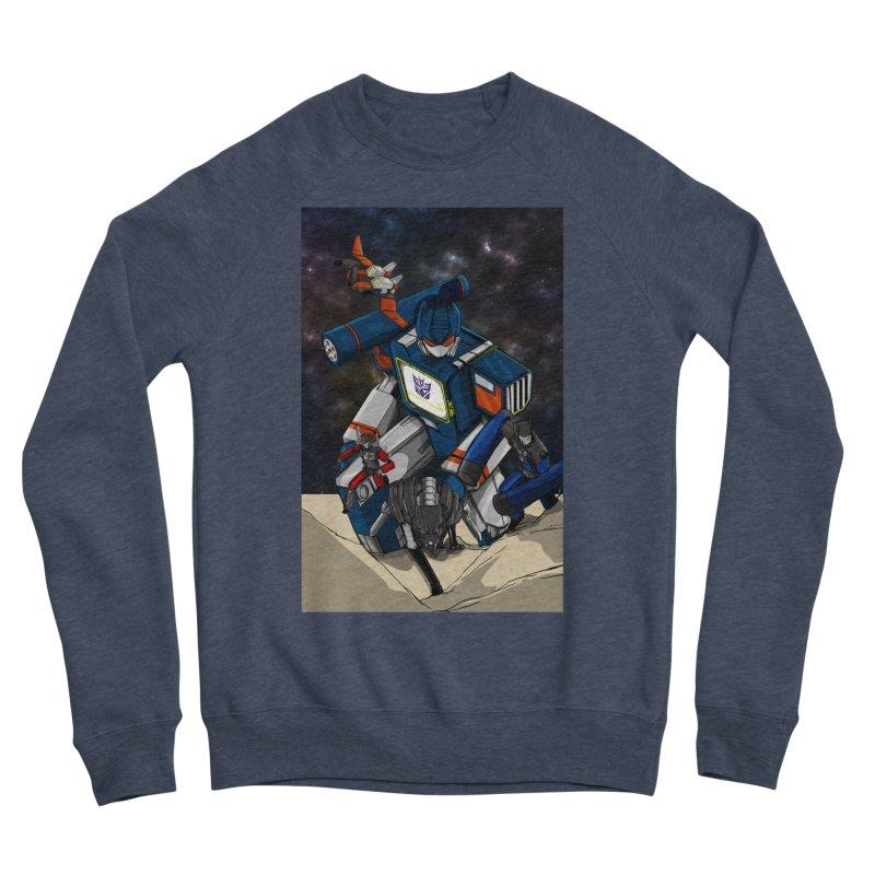 The Wave Men's Sponge Fleece Sweatshirt by wolly mcnair's Artist Shop