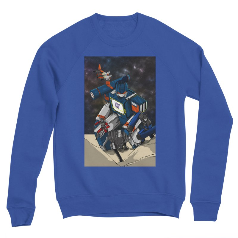 The Wave Men's Sweatshirt by wolly mcnair's Artist Shop