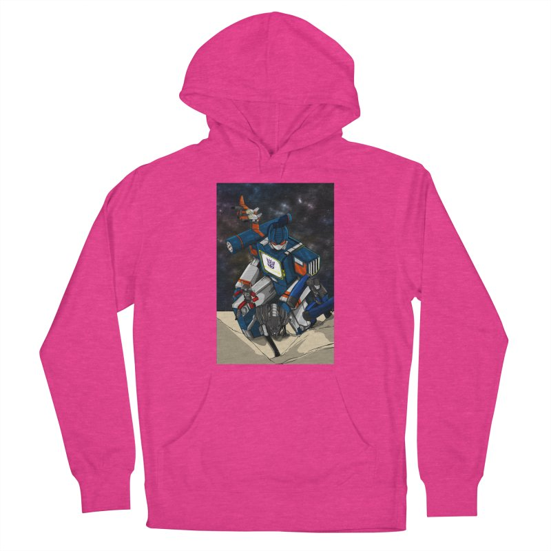 The Wave Women's Pullover Hoody by wolly mcnair's Artist Shop