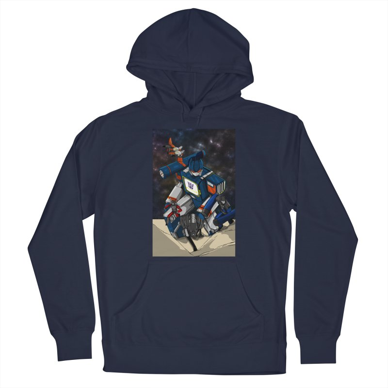 The Wave Men's Pullover Hoody by wolly mcnair's Artist Shop