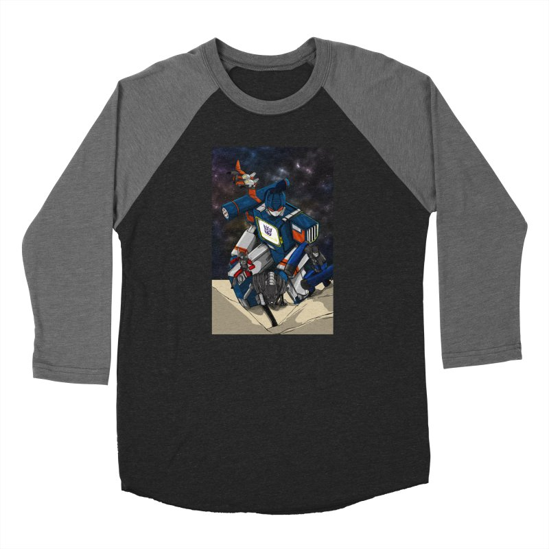 The Wave Women's Longsleeve T-Shirt by wolly mcnair's Artist Shop