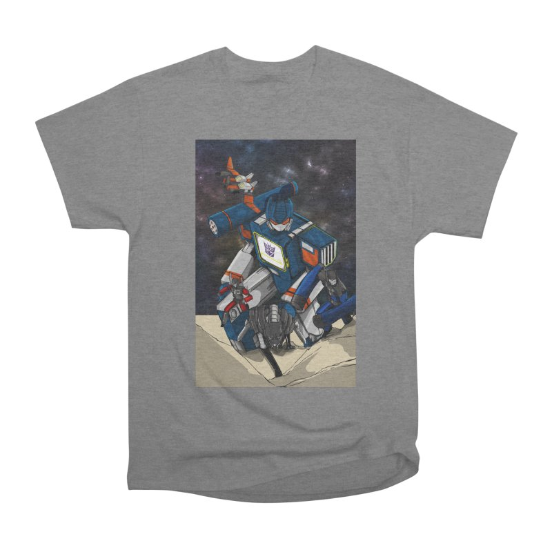 The Wave Men's Heavyweight T-Shirt by wolly mcnair's Artist Shop