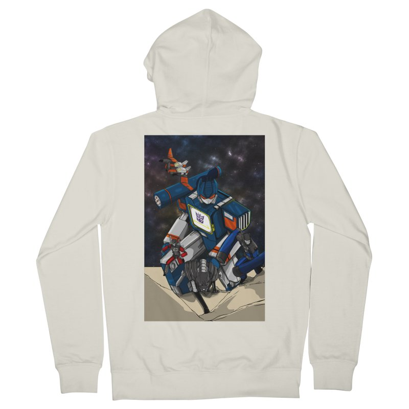 The Wave Women's Zip-Up Hoody by wolly mcnair's Artist Shop