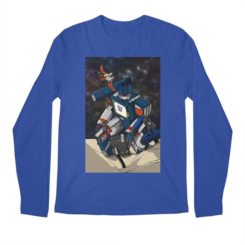 The Wave Men's Regular Longsleeve T-Shirt by wolly mcnair's Artist Shop