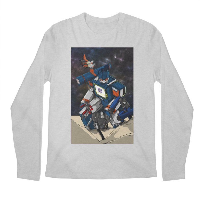 The Wave Men's Longsleeve T-Shirt by wolly mcnair's Artist Shop