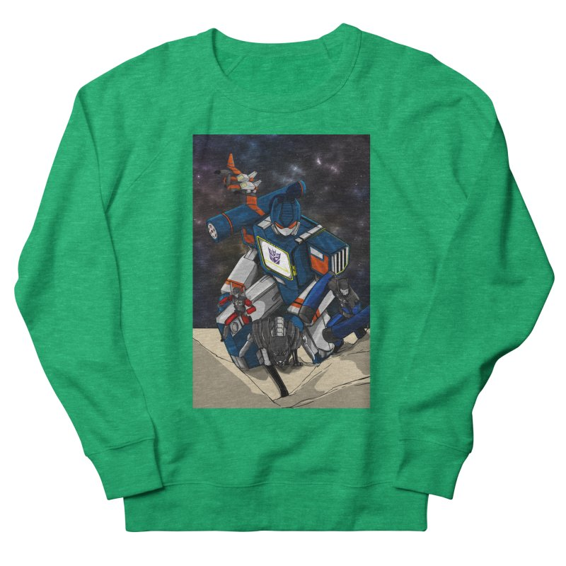 The Wave Women's Sweatshirt by wolly mcnair's Artist Shop