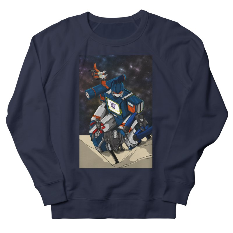 The Wave Women's French Terry Sweatshirt by wolly mcnair's Artist Shop