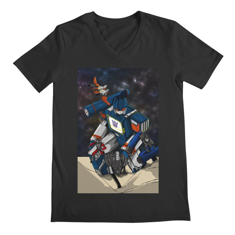 The Wave Men's Regular V-Neck by wolly mcnair's Artist Shop