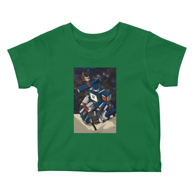 The Wave Kids Baby T-Shirt by wolly mcnair's Artist Shop