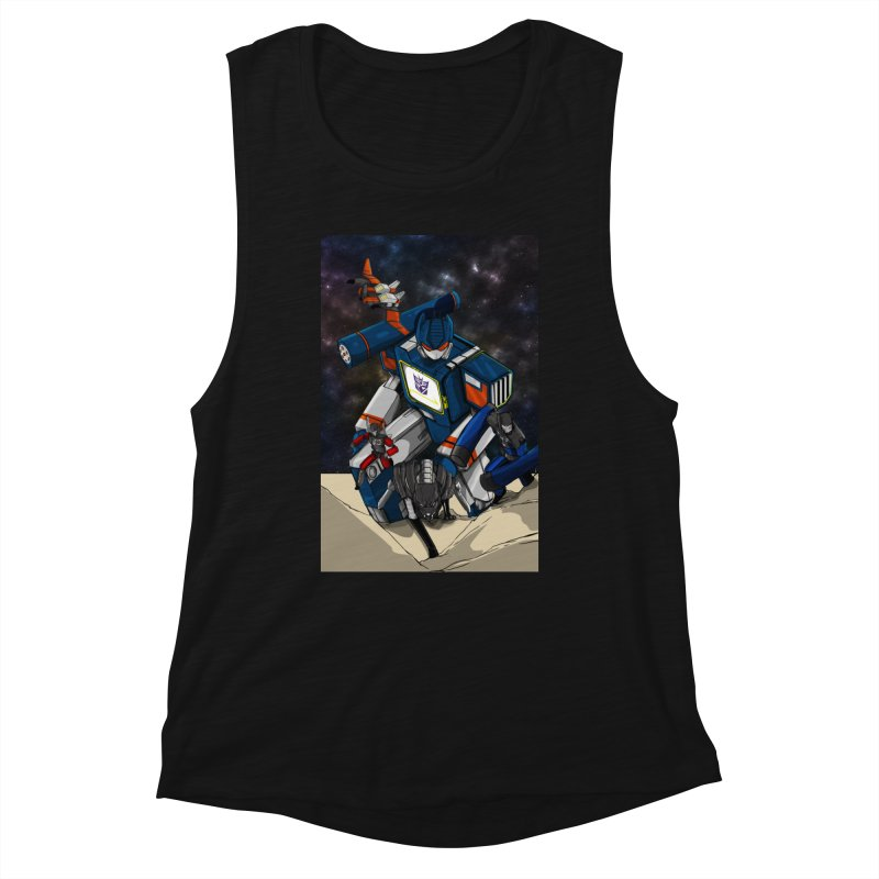 The Wave Women's Tank by wolly mcnair's Artist Shop