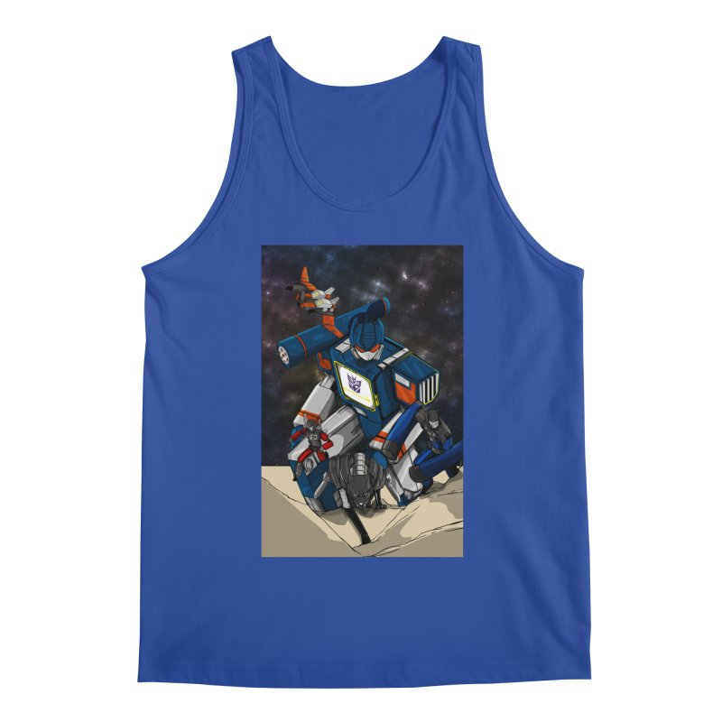 The Wave Men's Tank by wolly mcnair's Artist Shop