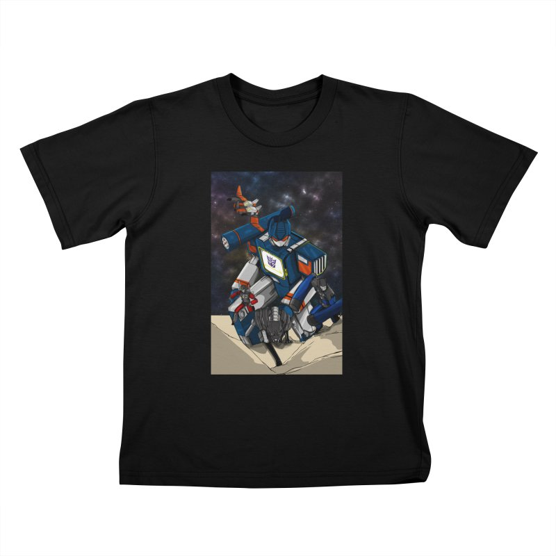 The Wave Kids T-Shirt by wolly mcnair's Artist Shop