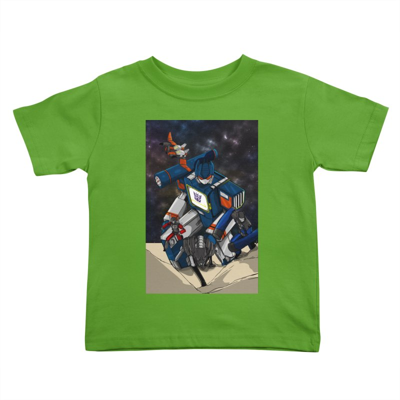 The Wave Kids Toddler T-Shirt by wolly mcnair's Artist Shop