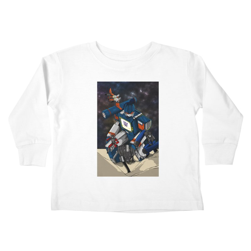 The Wave Kids Toddler Longsleeve T-Shirt by wolly mcnair's Artist Shop