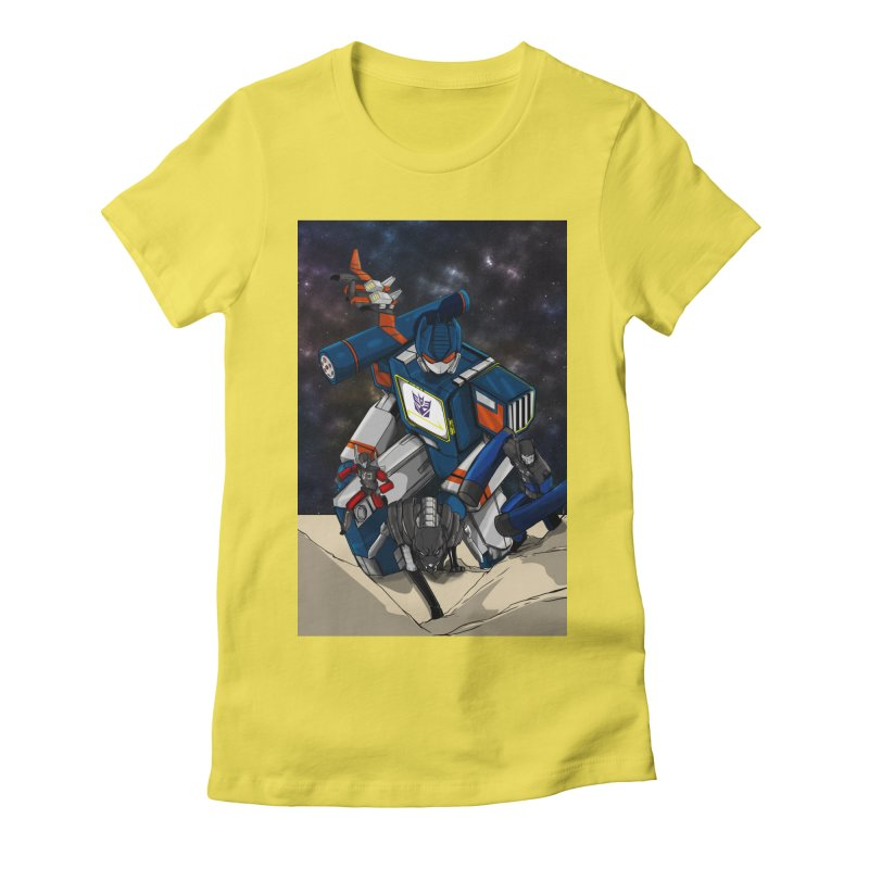 The Wave Women's T-Shirt by wolly mcnair's Artist Shop