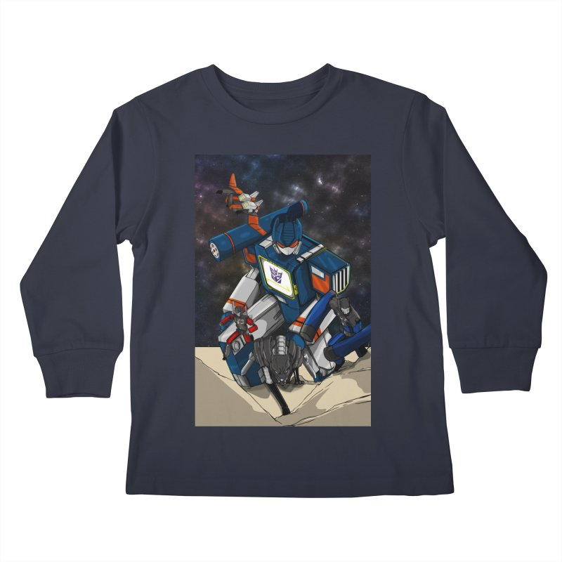 The Wave Kids Longsleeve T-Shirt by wolly mcnair's Artist Shop