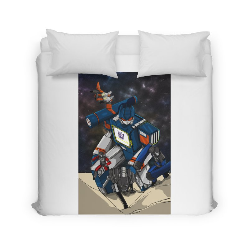 The Wave Home Duvet by wolly mcnair's Artist Shop