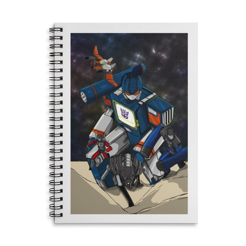 The Wave Accessories Notebook by wolly mcnair's Artist Shop