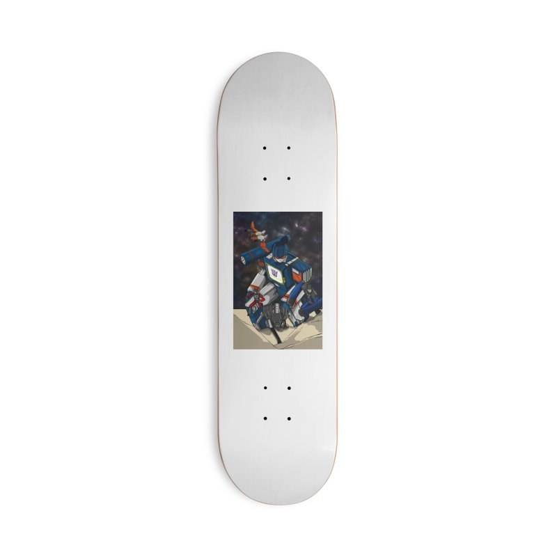 The Wave Accessories Skateboard by wolly mcnair's Artist Shop