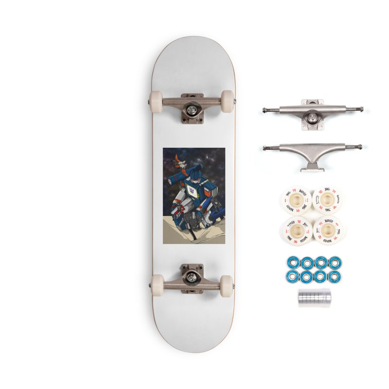 The Wave Accessories Complete - Premium Skateboard by wolly mcnair's Artist Shop