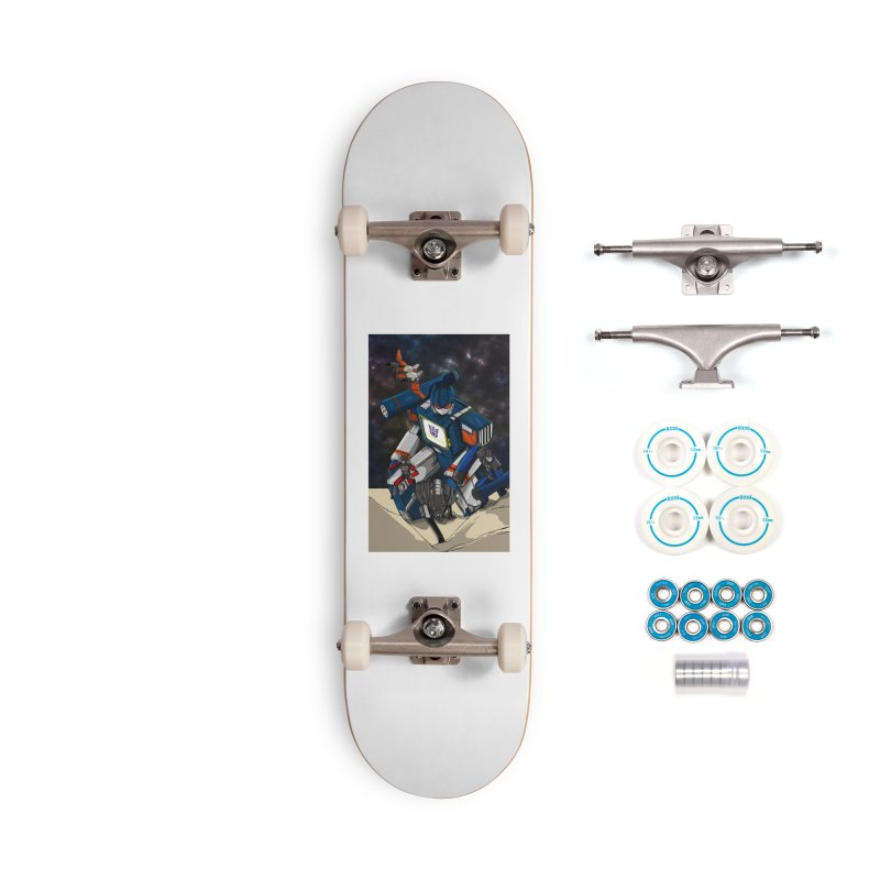 The Wave Accessories Complete - Basic Skateboard by wolly mcnair's Artist Shop