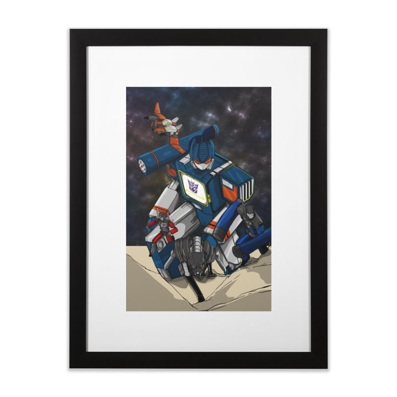 The Wave Home Framed Fine Art Print by wolly mcnair's Artist Shop