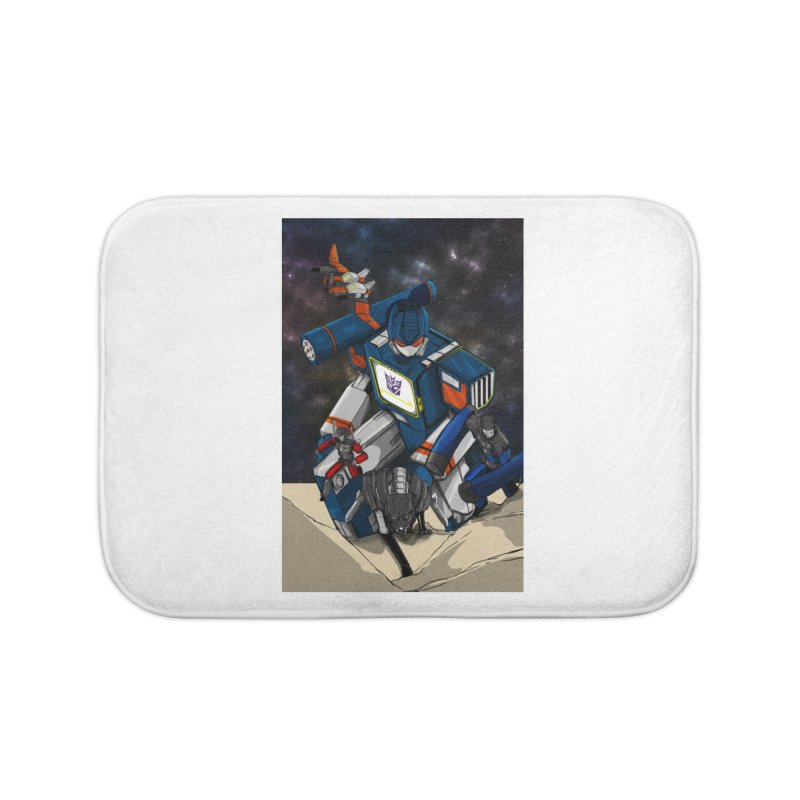The Wave Home Bath Mat by wolly mcnair's Artist Shop