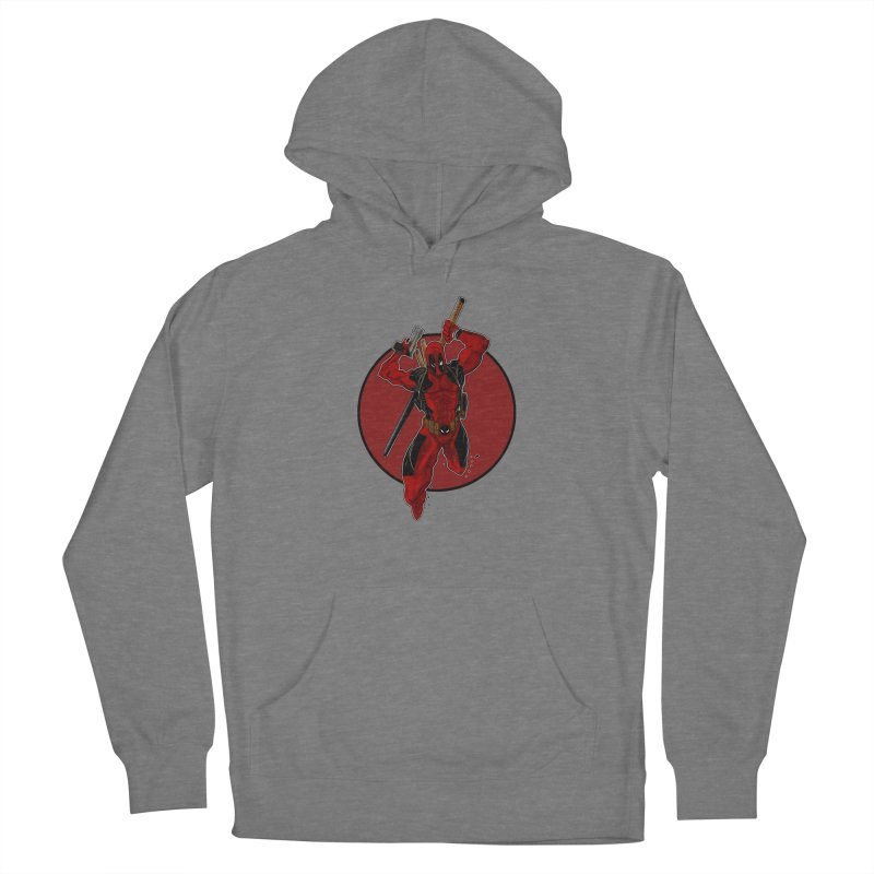 action!! Men's French Terry Pullover Hoody by wolly mcnair's Artist Shop