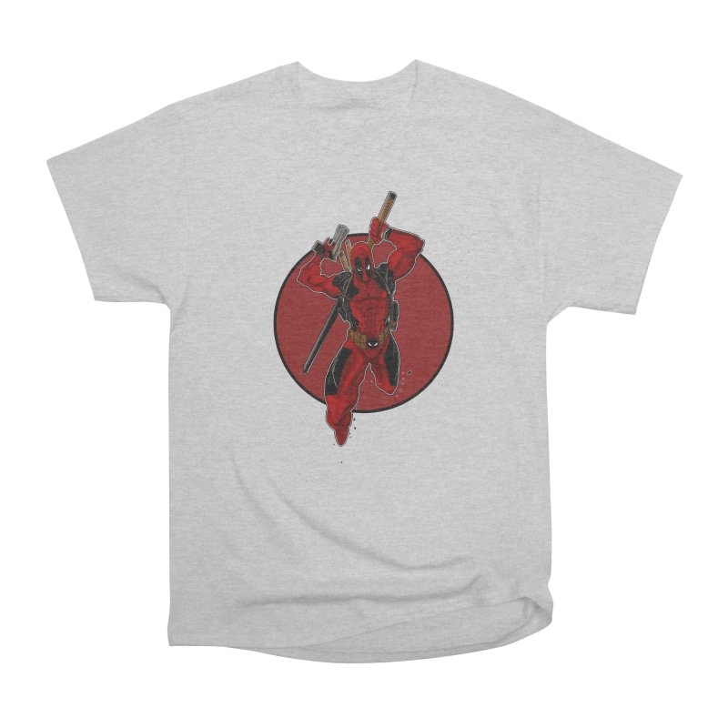action!! Men's Heavyweight T-Shirt by wolly mcnair's Artist Shop