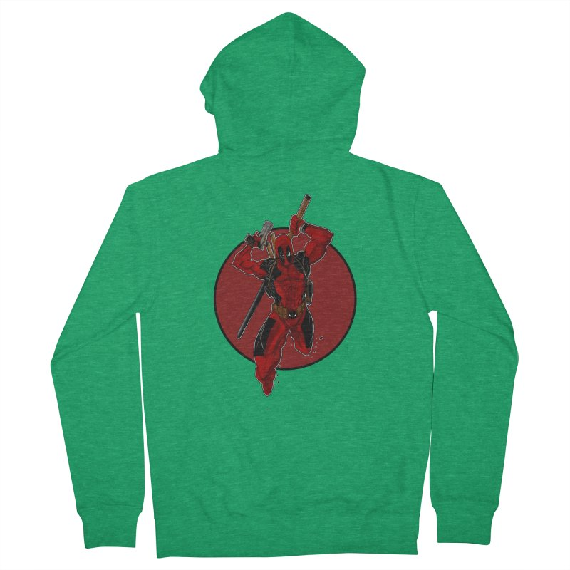 action!! Men's Zip-Up Hoody by wolly mcnair's Artist Shop