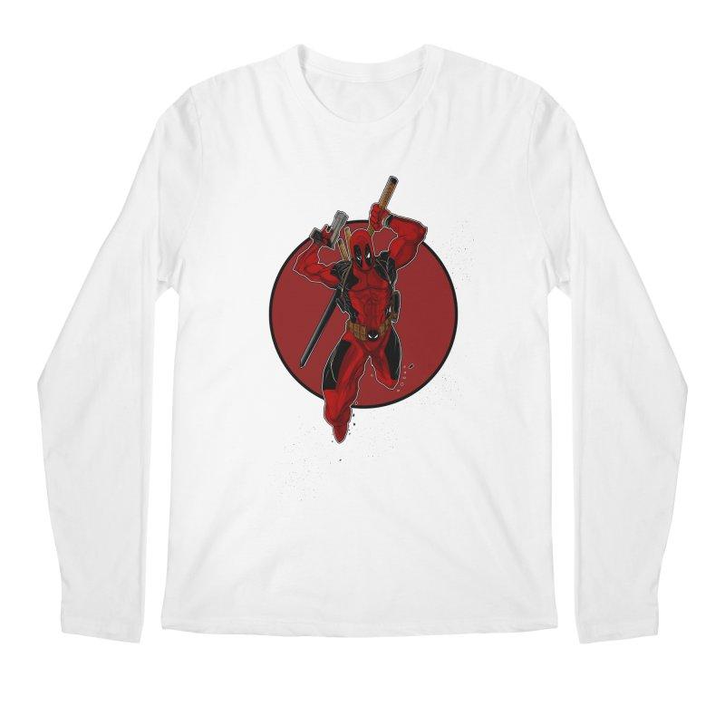action!! Men's Regular Longsleeve T-Shirt by wolly mcnair's Artist Shop