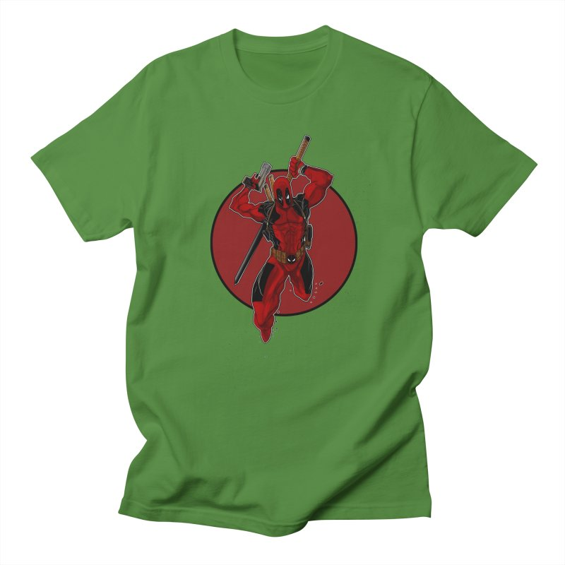 action!! Women's Regular Unisex T-Shirt by wolly mcnair's Artist Shop