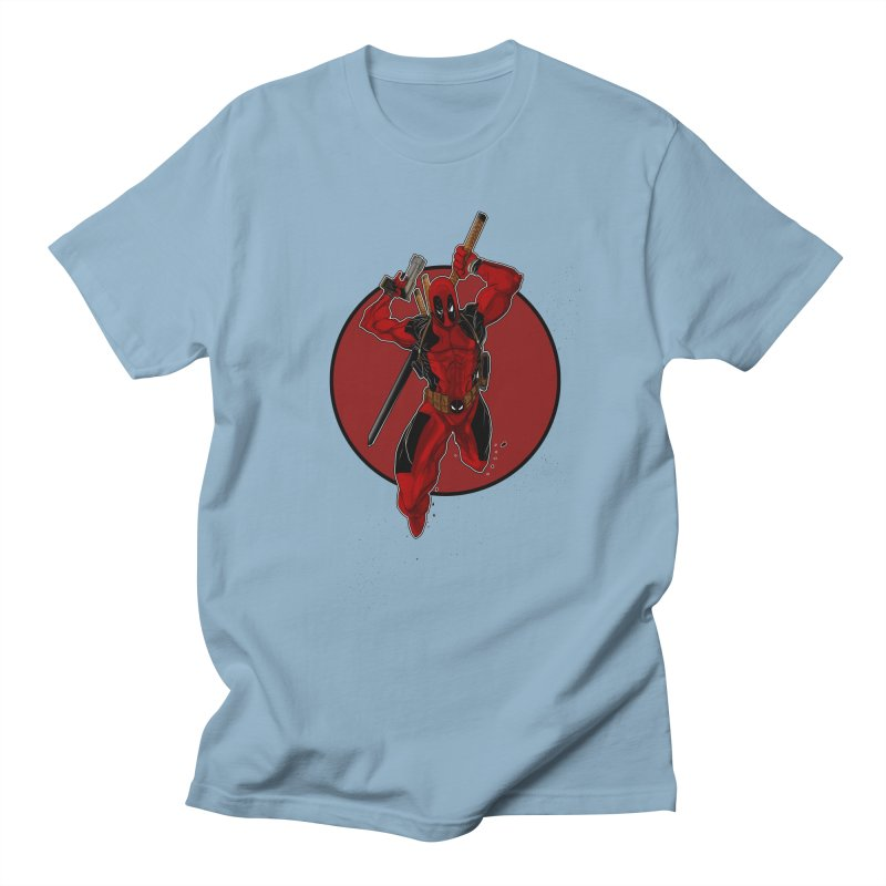 action!! Men's Regular T-Shirt by wolly mcnair's Artist Shop