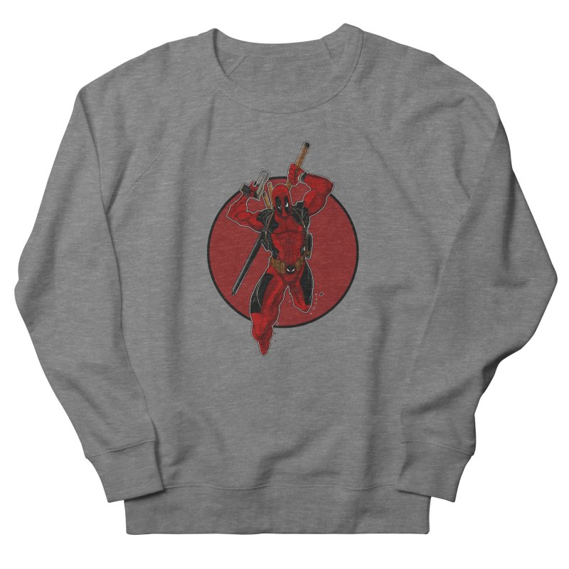 action!! Women's French Terry Sweatshirt by wolly mcnair's Artist Shop