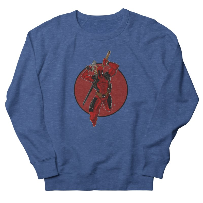 action!! Men's Sweatshirt by wolly mcnair's Artist Shop