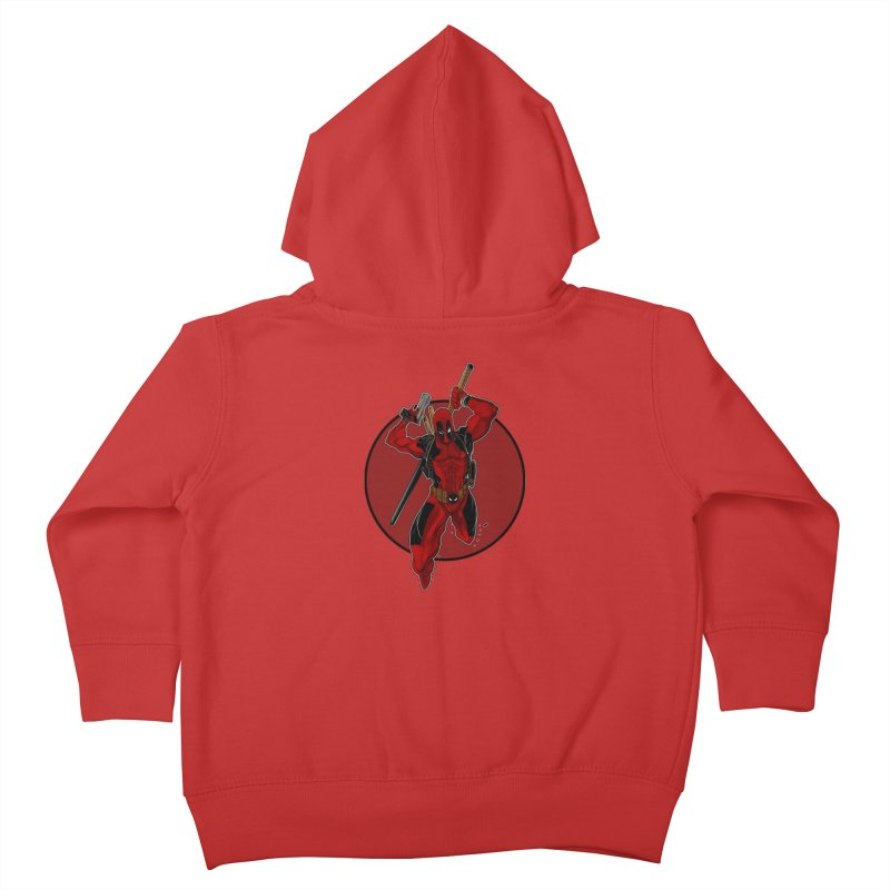 action!! Kids Toddler Zip-Up Hoody by wolly mcnair's Artist Shop