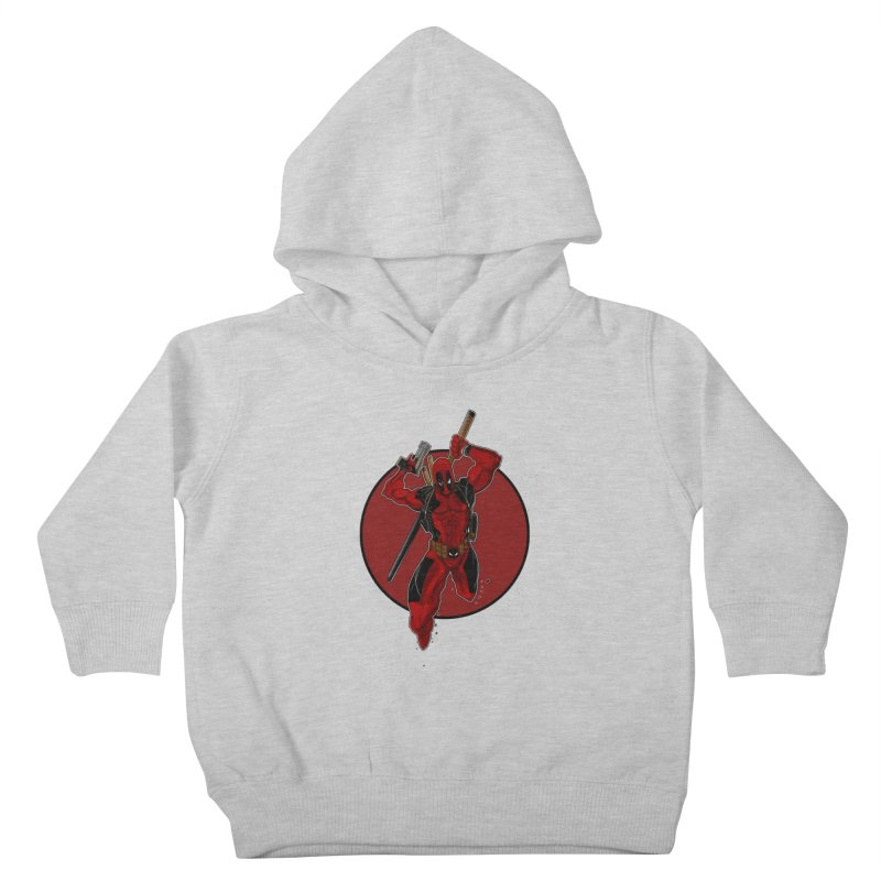 action!! Kids Toddler Pullover Hoody by wolly mcnair's Artist Shop