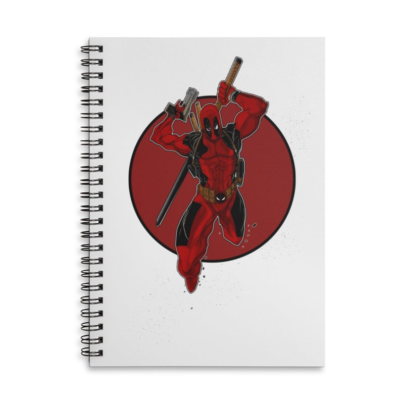 action!! Accessories Notebook by wolly mcnair's Artist Shop
