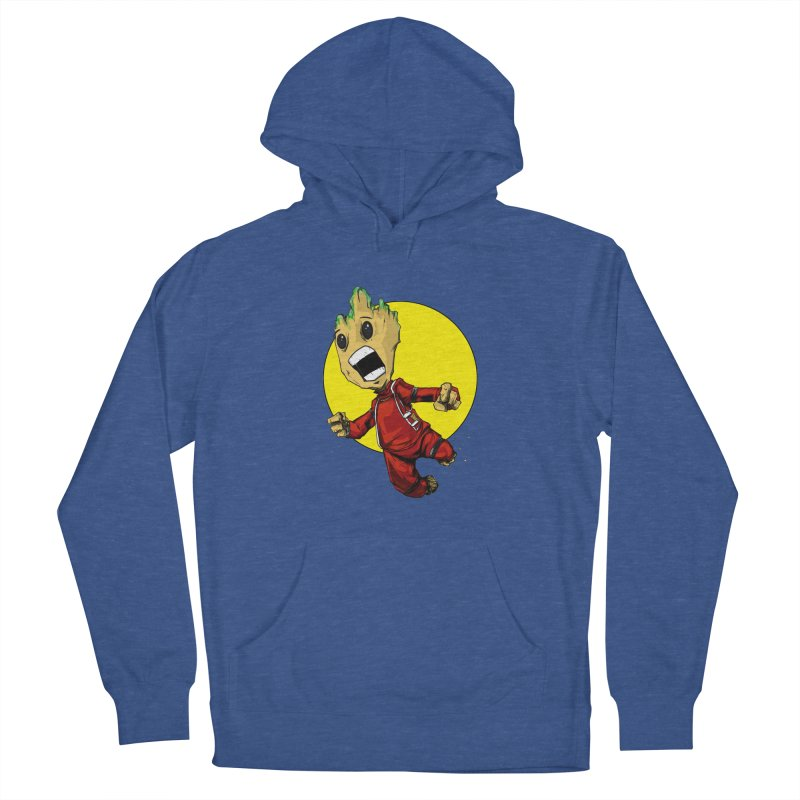 AHHHH!!!!! Men's French Terry Pullover Hoody by wolly mcnair's Artist Shop