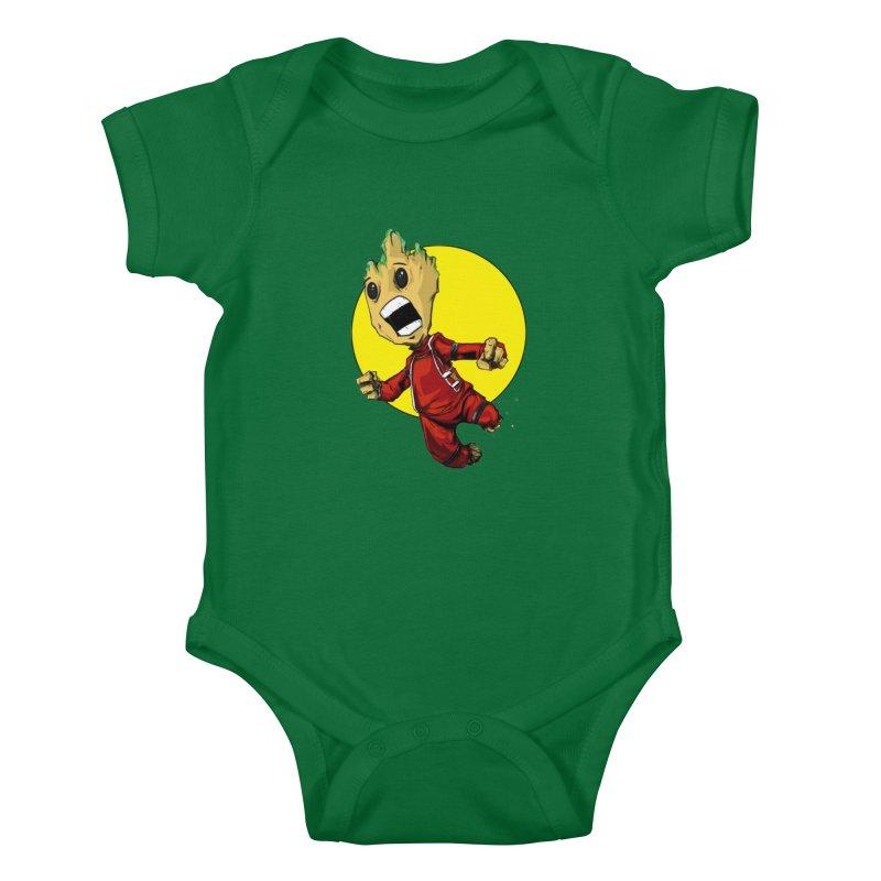 AHHHH!!!!! Kids Baby Bodysuit by wolly mcnair's Artist Shop