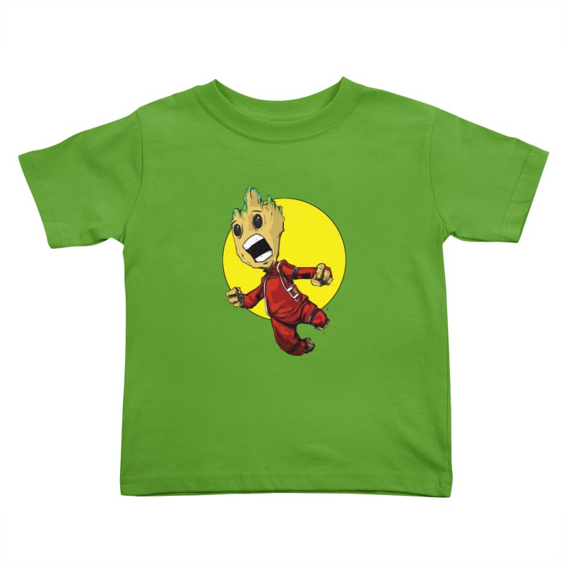 AHHHH!!!!! Kids Toddler T-Shirt by wolly mcnair's Artist Shop